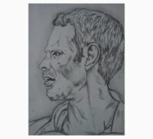 Ryan Giggs portrait by Collin Clarke BSc