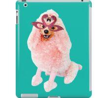 Pink Poodlie Poo iPad Case/Skin