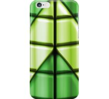 Superheroes - Green iPhone Case/Skin