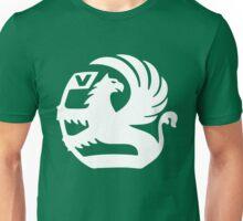 Vauxhall Emblem WHT Unisex T-Shirt
