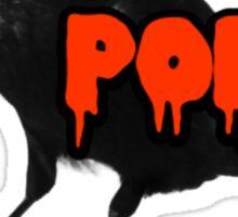 The Raven - Edgar Allen Poe Sticker