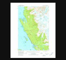 USGS TOPO Map Alaska AK Juneau C-3 356348 1951 63360 Unisex T-Shirt