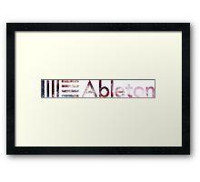 Ableton Space Logo Framed Print