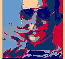 Hunter S. Thompson: Hope by Unaustralian