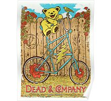 DEAD AND COMPANY SUMMER TOUR 2016 MODA CENTER-PORTLAND,OR Poster