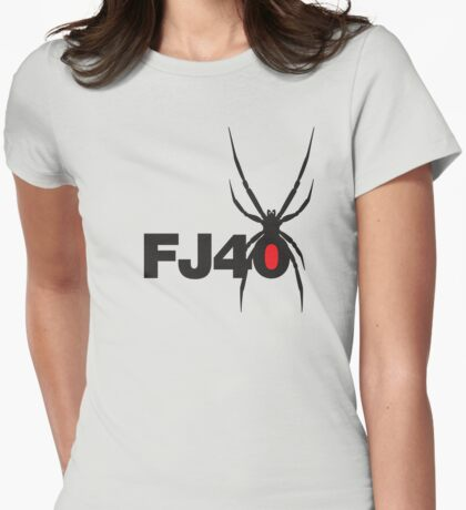 FJ40 Widow Spider  Womens Fitted T-Shirt