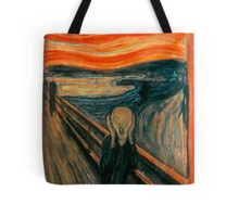 The Scream,reproduction,Edvard Munch, Impressionist Tote Bag