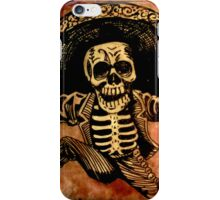 Posada Day of the Dead Outlaw iPhone Case/Skin