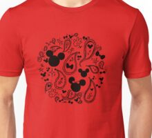 Minnie & Mickey Paisley Unisex T-Shirt