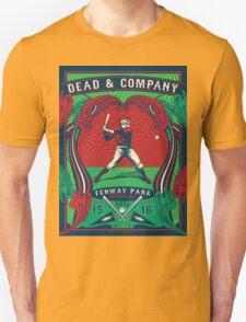 DEAD AND COMPANY SUMMER TOUR 2016 FENWAY PARK-BOSTON,MA Unisex T-Shirt