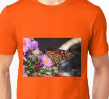 Butterfly on Asters II Unisex T-Shirt