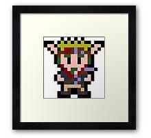 Pixel Jak Framed Print