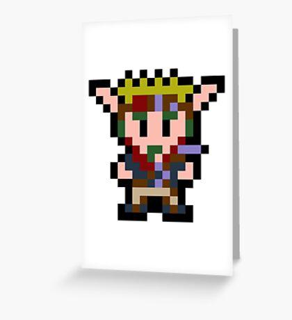 Pixel Jak Greeting Card
