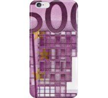 Five Hundred Euro Bill iPhone Case/Skin