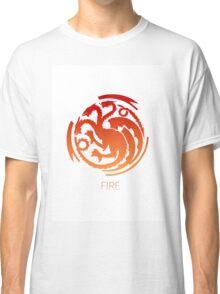 Team Fire Thrones/Pokemon Mashup Classic T-Shirt