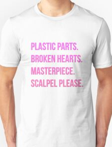PLASTIC SURGERY Unisex T-Shirt