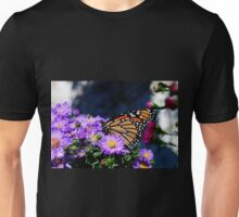 Butterfly on Asters III Unisex T-Shirt