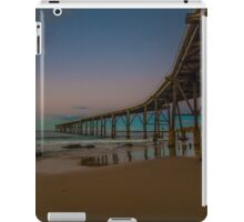 end of day at the Coal loader iPad Case/Skin