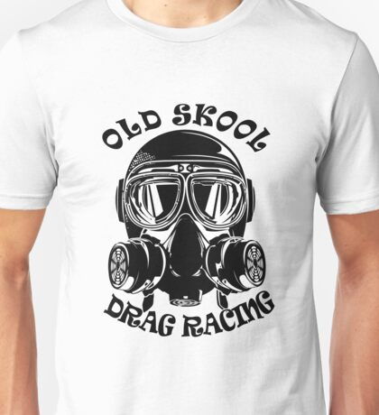 Old Skool Drag Racing Design Unisex T-Shirt