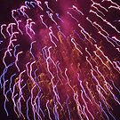 Funky Fireworks 4 by tmtphotography