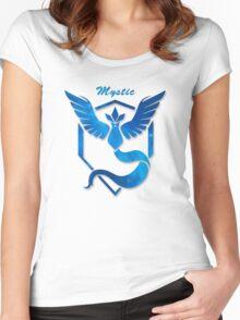 Pokemon GO |Team Mystic Women's Fitted Scoop T-Shirt