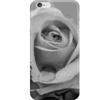 mono rose after the rain iPhone Case/Skin