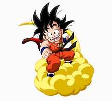 Goku and his Cloud Flying Nimbus - Dragon Ball Unisex T-Shirt