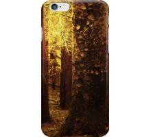 TOUCH OF GOLD IN THE FOREST iPhone Case/Skin