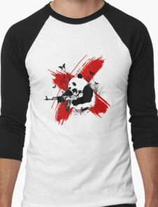 Panda love style Men's Baseball ¾ T-Shirt