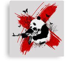 Panda love style Canvas Print