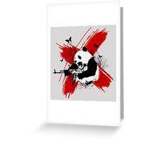 Panda love style Greeting Card