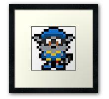 Pixel Sly Cooper Framed Print
