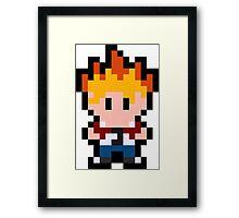 Pixel Spike Framed Print
