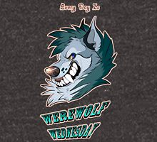 Every Day is Werewolf Wednesday! (color option #2) Unisex T-Shirt
