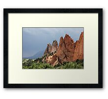 Garden of the Gods 2 Framed Print