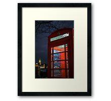 Machination - London Lights Framed Print