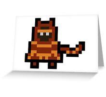 Pixel The Traveler Greeting Card