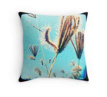 grassseeds Throw Pillow