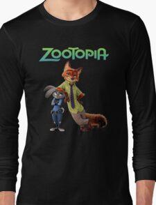 zootopia Long Sleeve T-Shirt