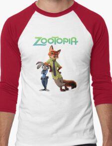zootopia Men's Baseball ¾ T-Shirt