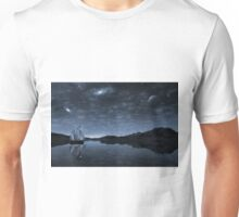 Beneath a jewelled sky Unisex T-Shirt