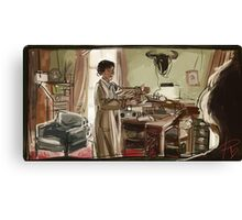 Morning Tea Canvas Print