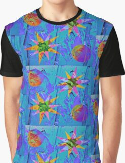 Tropical Wall Burst Graphic T-Shirt