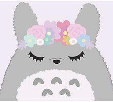 Totoro Cutie Photographic Print