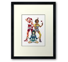 Go Ladies! Framed Print