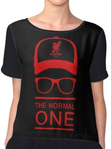 jurgen klopp red liverpool Chiffon Top
