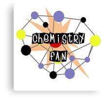 Chemistry Fan Canvas Print