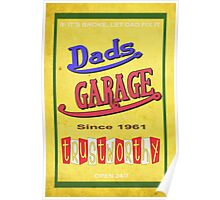 DADS GARAGE since 1961 Poster