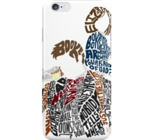 What'd You Say? iPhone Case/Skin