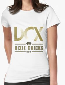 DIXIE CHICKS MMXVI 2016 logo Womens Fitted T-Shirt